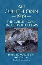 An Cuilithionn 1939: The Cuillin 1939 and…