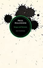 Songs and Sonnets by Paul Muldoon