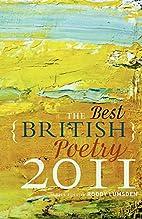 The Best British Poetry 2011 by Roddy…