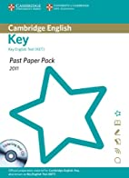 Past Paper Pack for Cambridge English Key…