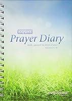 Explore Prayer Diary by Tim Thornborough