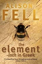 The element -inth in Greek by Alison Fell