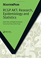 Rcgp Akt: Research, Epidemiology and…