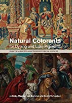 Natural Colorants for Dyeing and Lake…