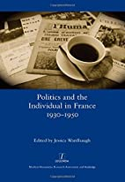 Politics and the Individual in France…