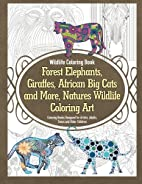 Wildlife Coloring Book Forest Elephants,…