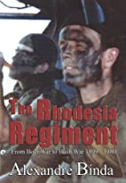 The Rhodesia Regiment: From Boer War to Bush…