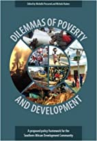 Dilemmas of Poverty and Development: A…