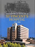 The history of medicine at St Vincent's…