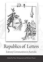 Republics of Letters: Literary Communities…
