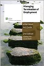 Managing termination of employment : a Fair…