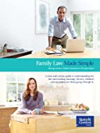Family Law Made Simple: Marriage, Divorce,…