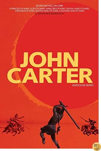 TJohn Carter: Barsoom Series (7 Novels) a Princess of Mars; Gods of Mars; Warlord of Mars; Thuvia, Maid of Mars; Chessmen of Mars; M