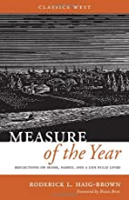 Measure of the Year by Roderick L.…