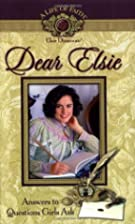 Dear Elsie by Mission City Press Inc.