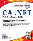 C#.net Web Developer's Guide (With CD-ROM)…