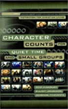 Character Counts for Quiet Time and Small…