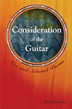 Consideration of the Guitar: New And…
