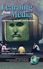 Learning From Media: Arguments, Analysis and…