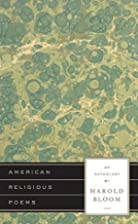 American Religious Poems: An Anthology by…