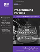 Programming Portlets: An Introduction Using…