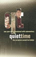 Quiet Time: One Year Daily Devotional with…