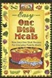 Barbara C. Jones: Easy One-Dish Meals