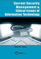 Current Security Management & Ethical Issues…