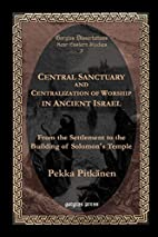 Central Sanctuary and Centralization of…