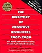 The Directory of Executive Recruiters…