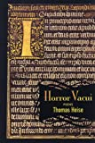 Heise, Thomas: Horror Vacui: Poems