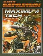 Classic Battletech: Maximum Tech (FPR35013)…