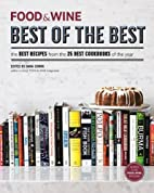 Food and Wine Best of the Best Cookbook…