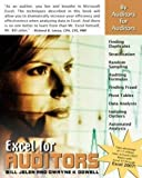 Jelen, Bill: Excel for Auditors: Audit Spreadsheets Using Excel 97 through Excel 2007 (Excel for Professionals series)
