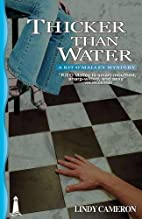 Thicker Than Water by Lindy Cameron