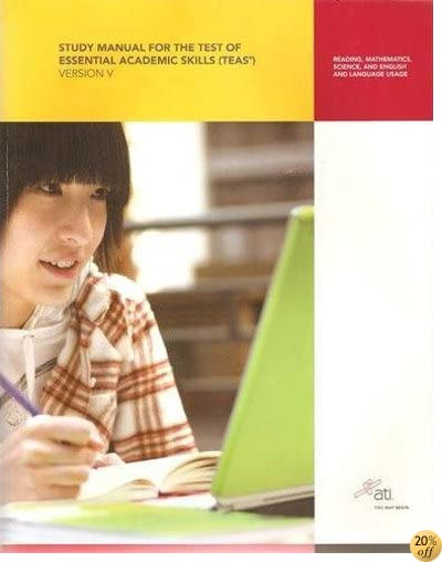TStudy Manual for the Test of Essential Academic Skills, Version 5: Reading, Mathematics, Science, English and Language Usage