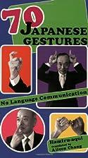 70 Japanese Gestures: No Language…