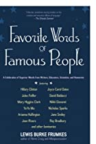Favorite Words of Famous People: A…
