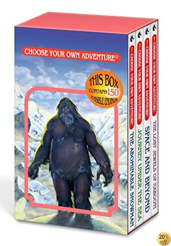 TThe Abominable Snowman/Journey Under the Sea/Space and Beyond/The Lost Jewels of Nabooti (Choose Your Own Adventure 1-4)