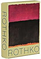 Mark Rothko: Notecard Boxes -- a stationery…
