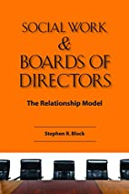 Social Work & Boards of Directors: The…