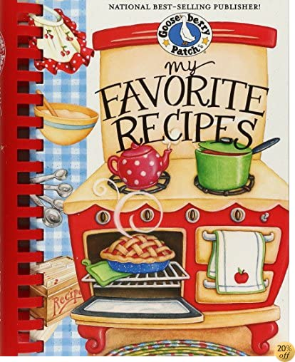 TMy Favorite Recipes Cookbook (Everyday Cookbook Collection)
