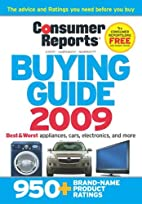Consumer Reports Buying Guide by Consumer…