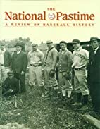 The National Pastime 27 by Society for…