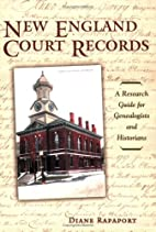 New England Court Records: A Research Guide…