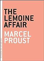 The Lemoine Affair by Marcel Proust