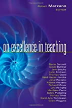 On Excellence in Teaching by Robert J.…