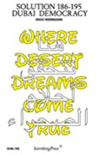 Solution 186-195: Dubai Democracy by Ingo…