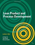Lean Product and Process Development by…