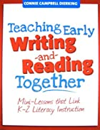 Teaching early writing and reading together…